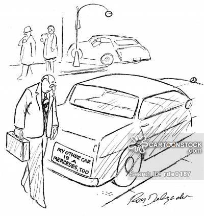 400x423 Mercedes Benz Cartoons And Comics