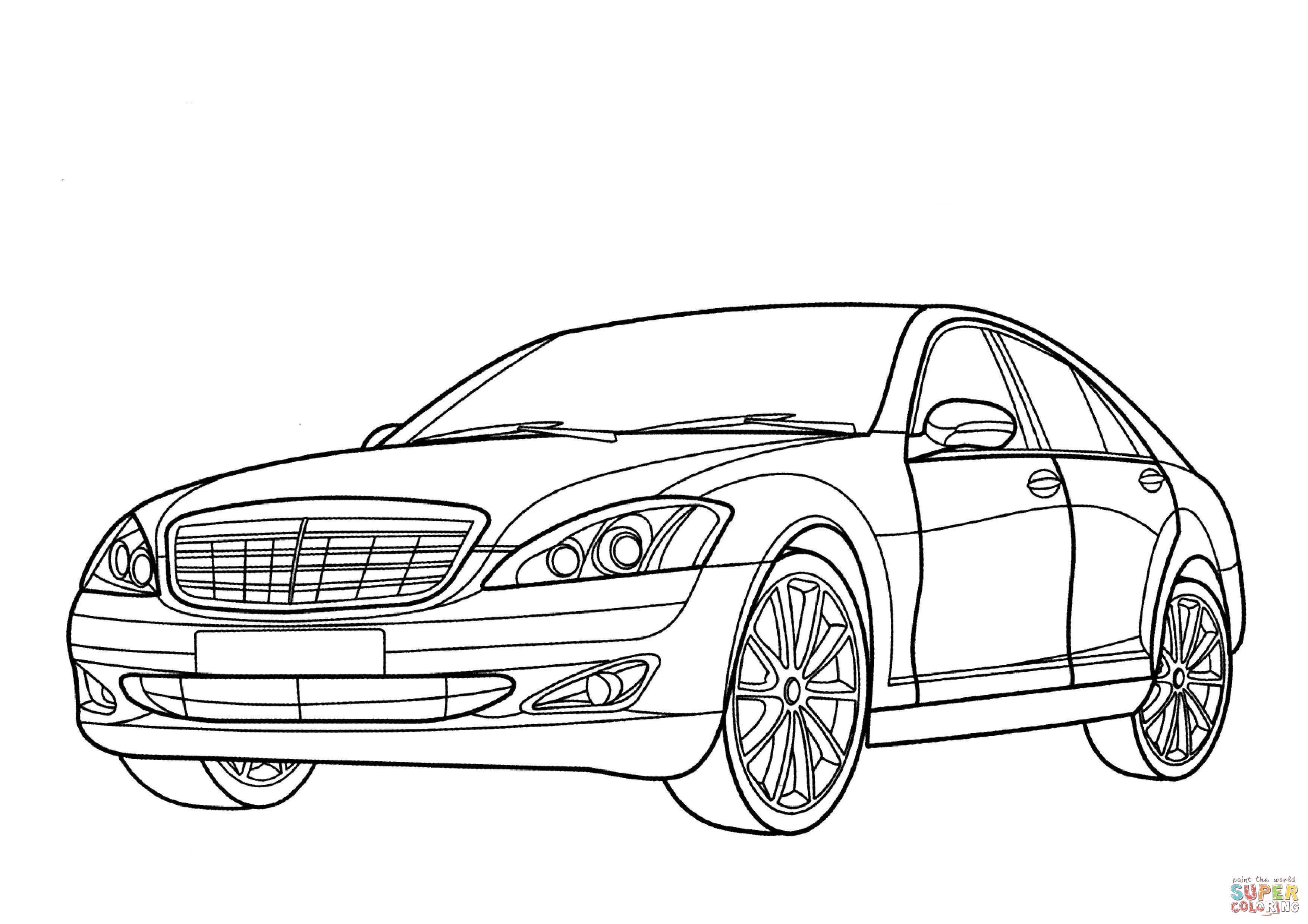 Auto Ausmalbilder Skoda : Mercedes Benz Drawing At Getdrawings Com Free For Personal Use