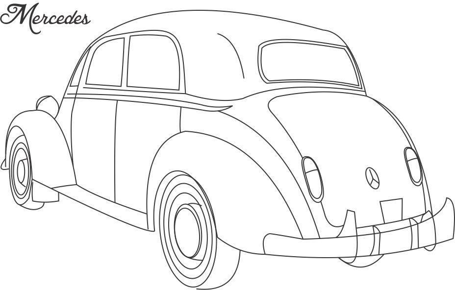Mercedes Drawing At Getdrawings Com