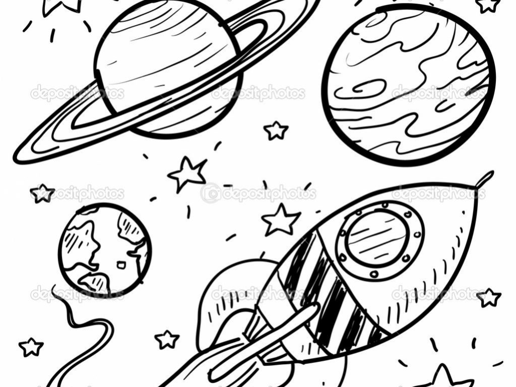 1024x768 Planet Earth Coloring Pages To Download Complete Planets Printable