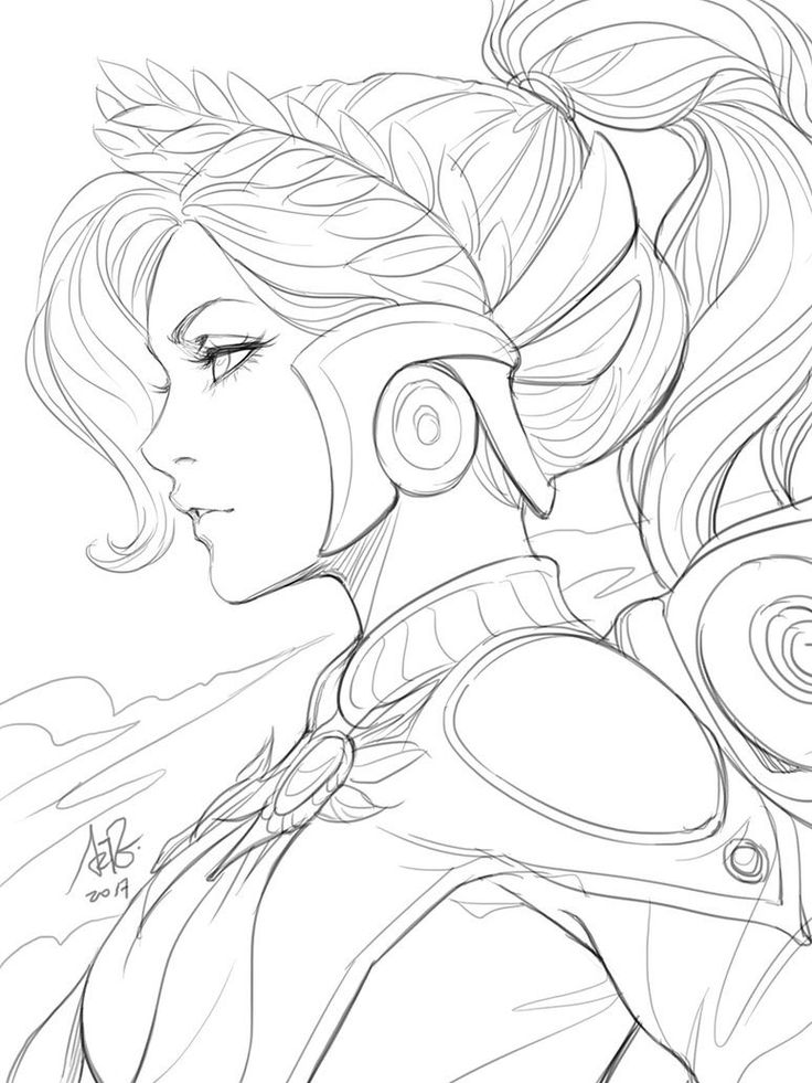 Mercy Drawing