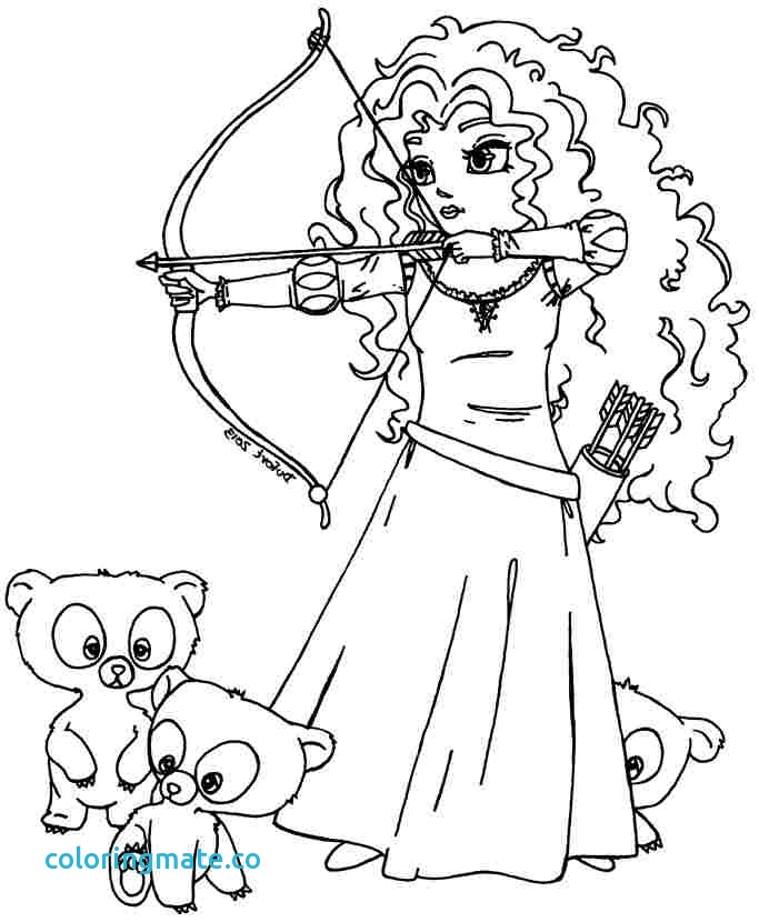 683x830 Brave Coloring Pages Beautiful Printable Coloring Pages Disney