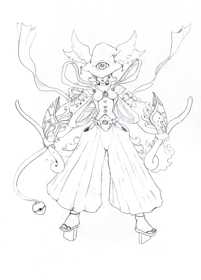 670x929 Female Merlin By Takahan