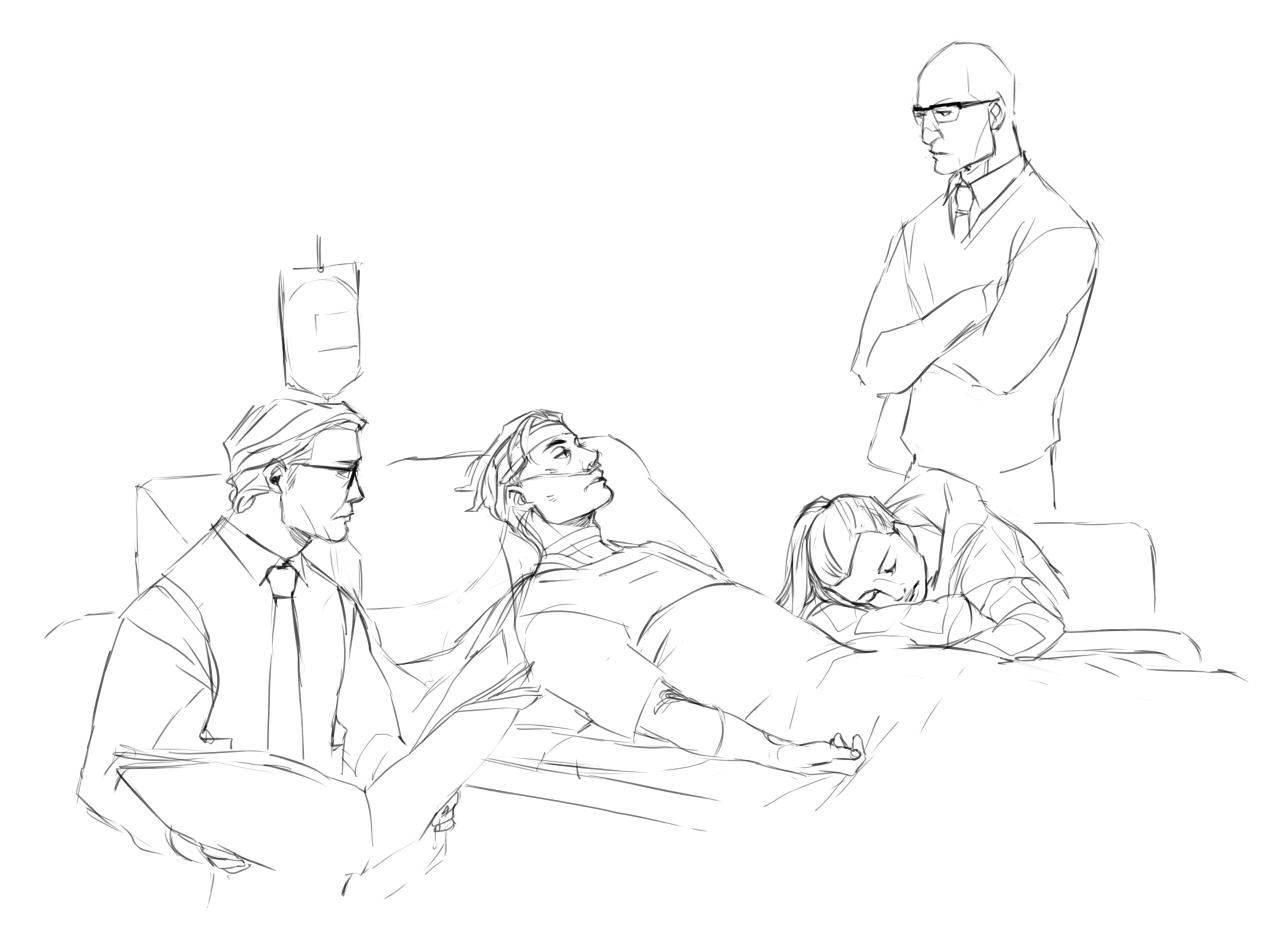 1272x934 Harryeggsy, Roxy And Merlin. Eggsy's Family In Kingsman Merlin