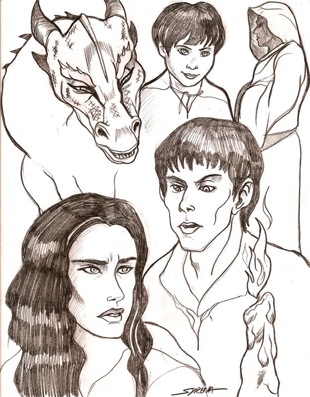 625x800 Merlin Sketches 3 By Slayersyrena