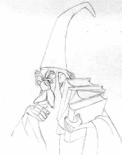 415x529 Sword In The Stone Wart Original Disney Artwork, Production