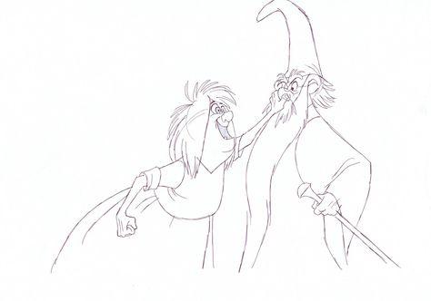 474x332 Disney Exaggeration Animation Frank Thomas Animated Merlin