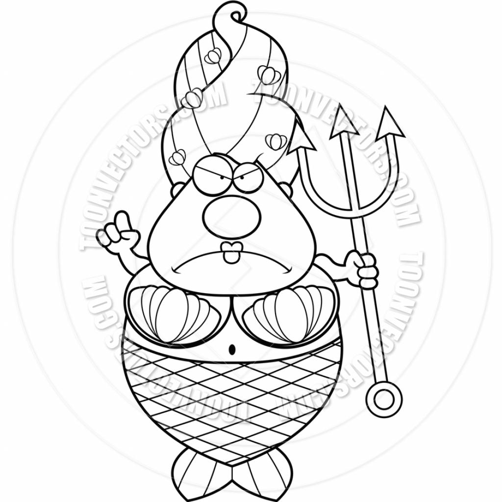 1024x1024 Cartoon Mermaids To Draw Mermaid Cartoon Drawing How To Draw