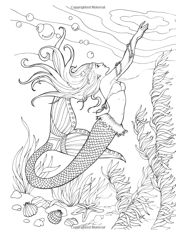 Mermaid Drawing Book at GetDrawings.com | Free for personal use ...