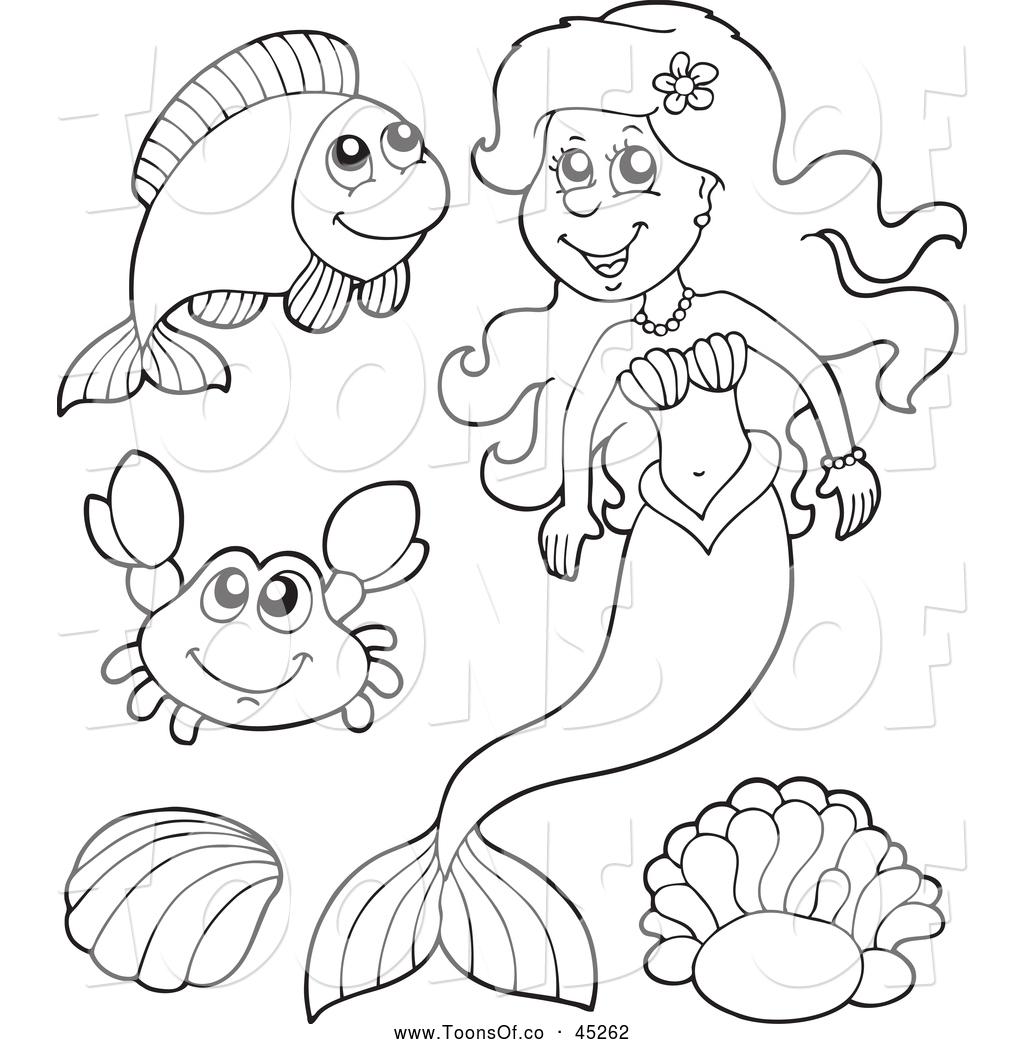 1024x1044 Mermaid Black And White Clipart