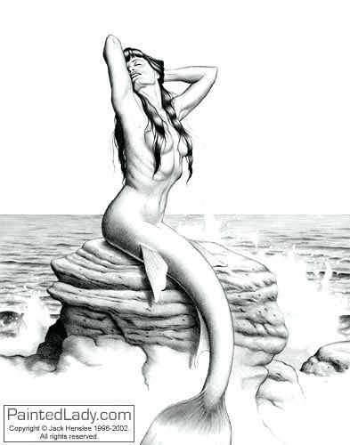 393x500 Mermaid Drawings Drawings Of The Little Mermaid Mermaid Cartoon
