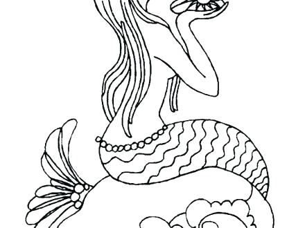 440x330 Mermaid Color Page Mermaid Coloring Pages Games