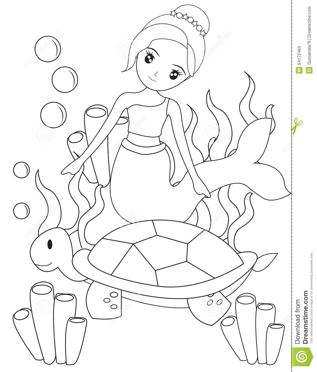 Mermaid Drawing Pictures at GetDrawings | Free download
