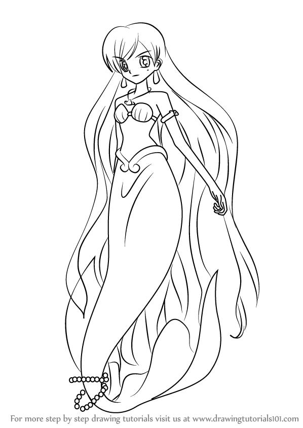 598x844 Drawn Mermaid Mermaid Melody