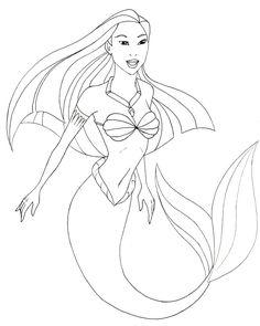 236x295 Easy Mermaid Drawings In Pencil