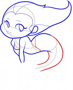 244x302 How To Draw How To Draw A Mermaid For Kids