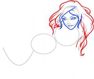 302x256 How To Draw A Mermaid Girl, Mermaid Girl Things I Wanna Make