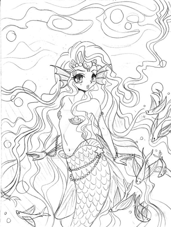 600x795 Mermaid Princess