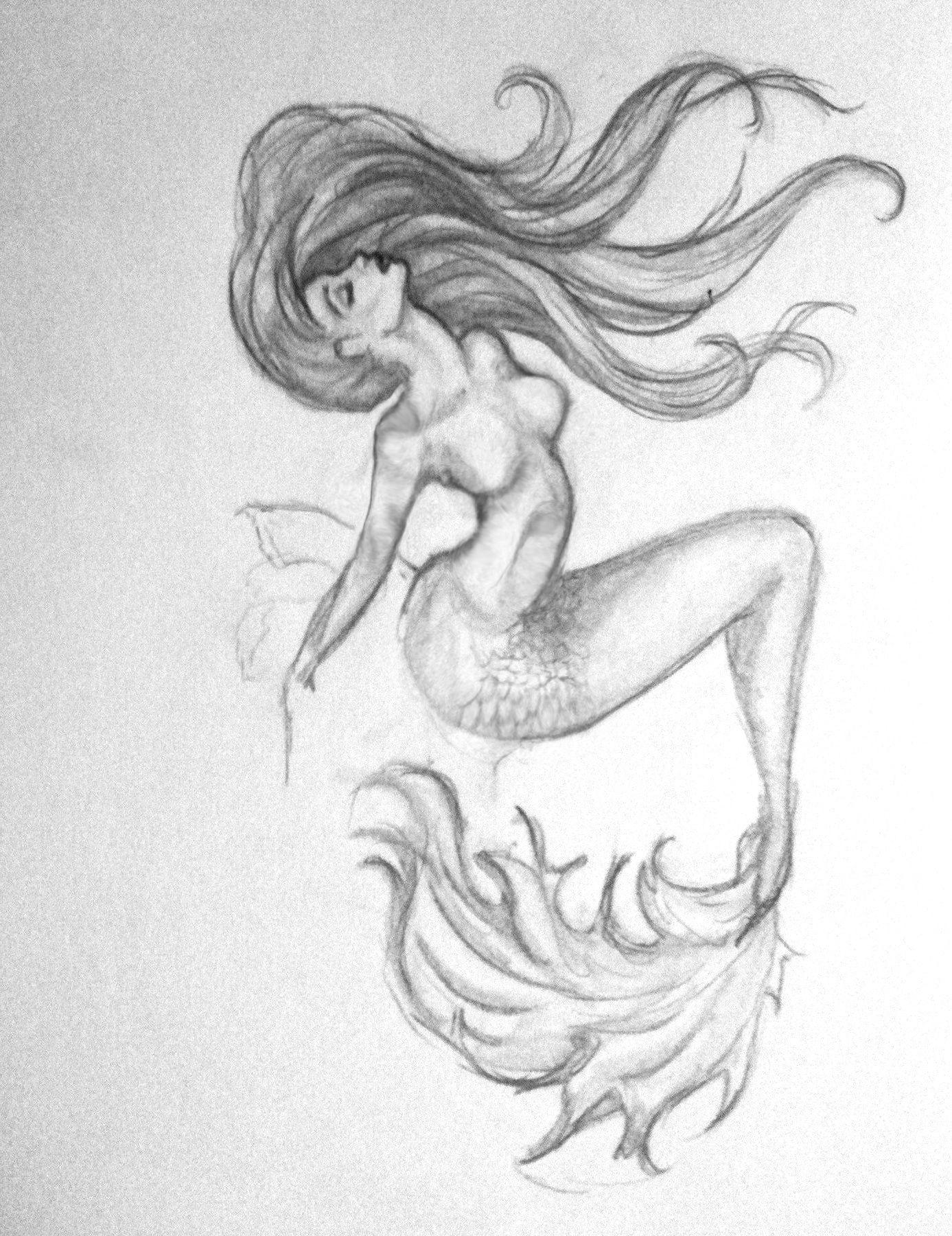 1387x1800 Mermaid Design Mermaid Mermaid, Tattoo And Drawings