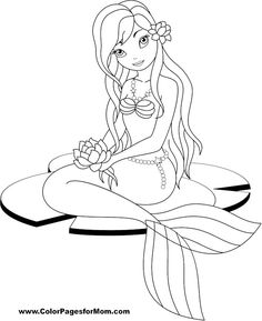 236x289 Lisa Frank Mermaid Coloring Pages Download And Print These