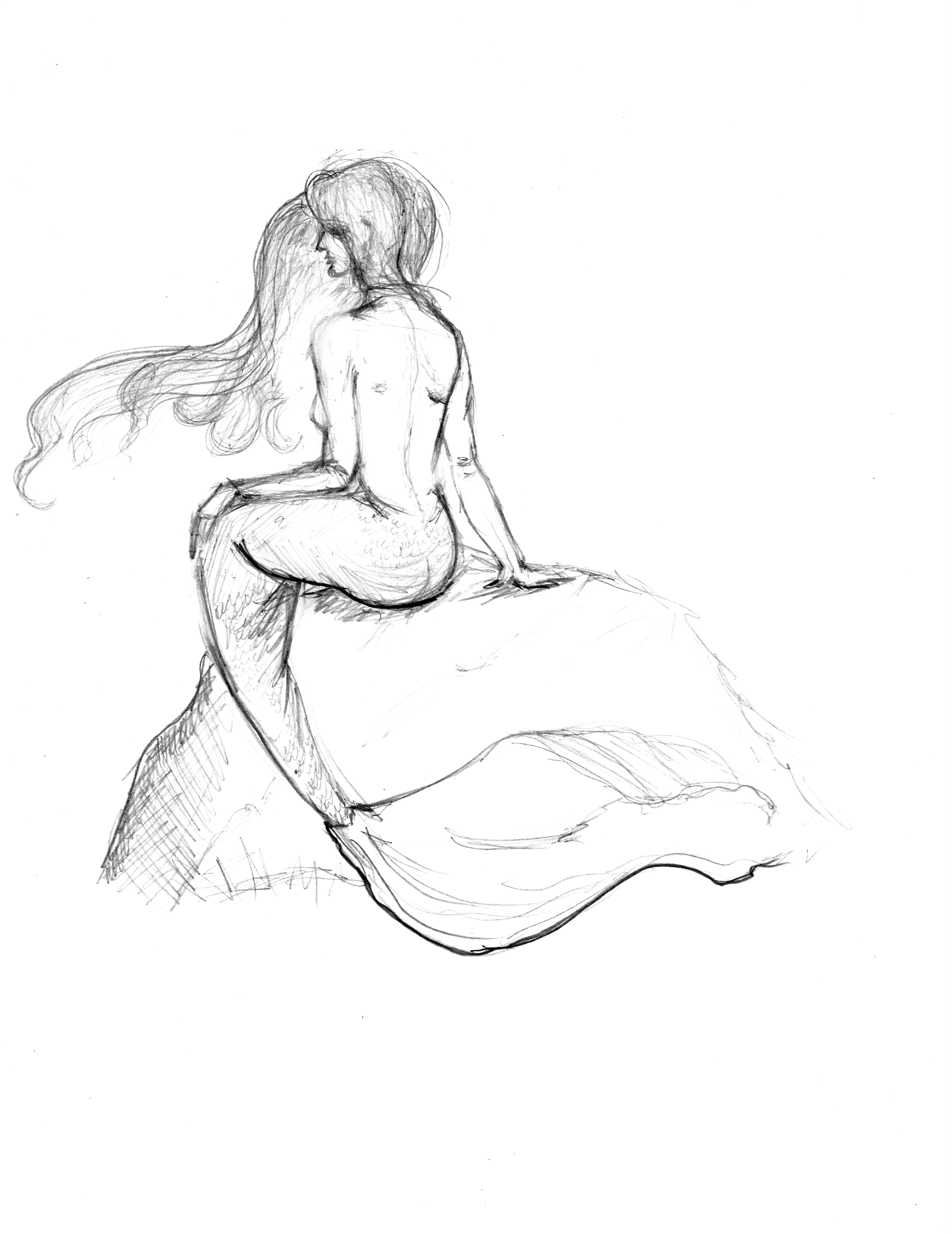 3857x5000 Mermaid By Natalia Pleshkova