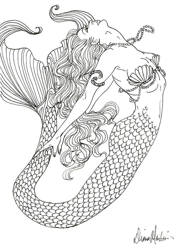 736x1022 2263 Best Mermaids Images On Mermaids, Mermaid Art