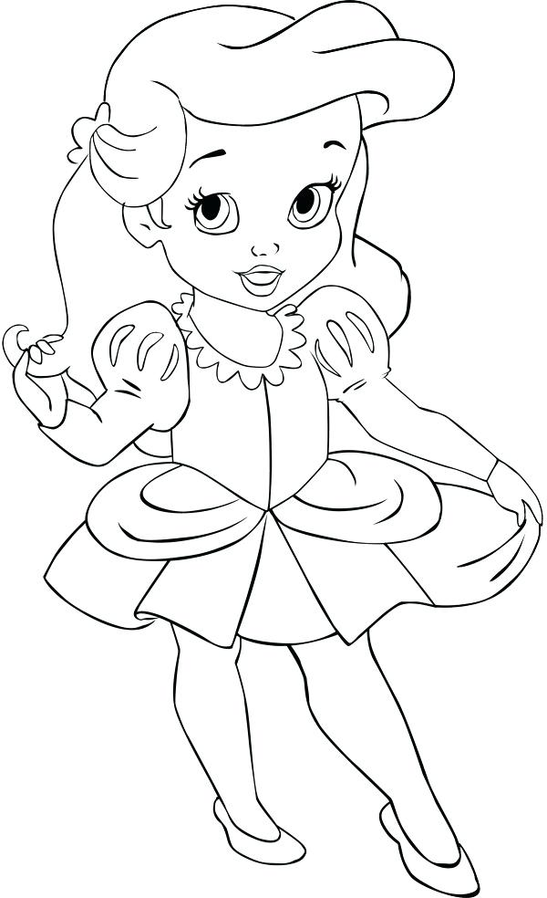 600x984 Classy Babies Coloring Pages Crayola Photo Baby The Little Mermaid