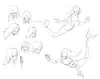 200x158 Kid Sketches Sketching Mermaids