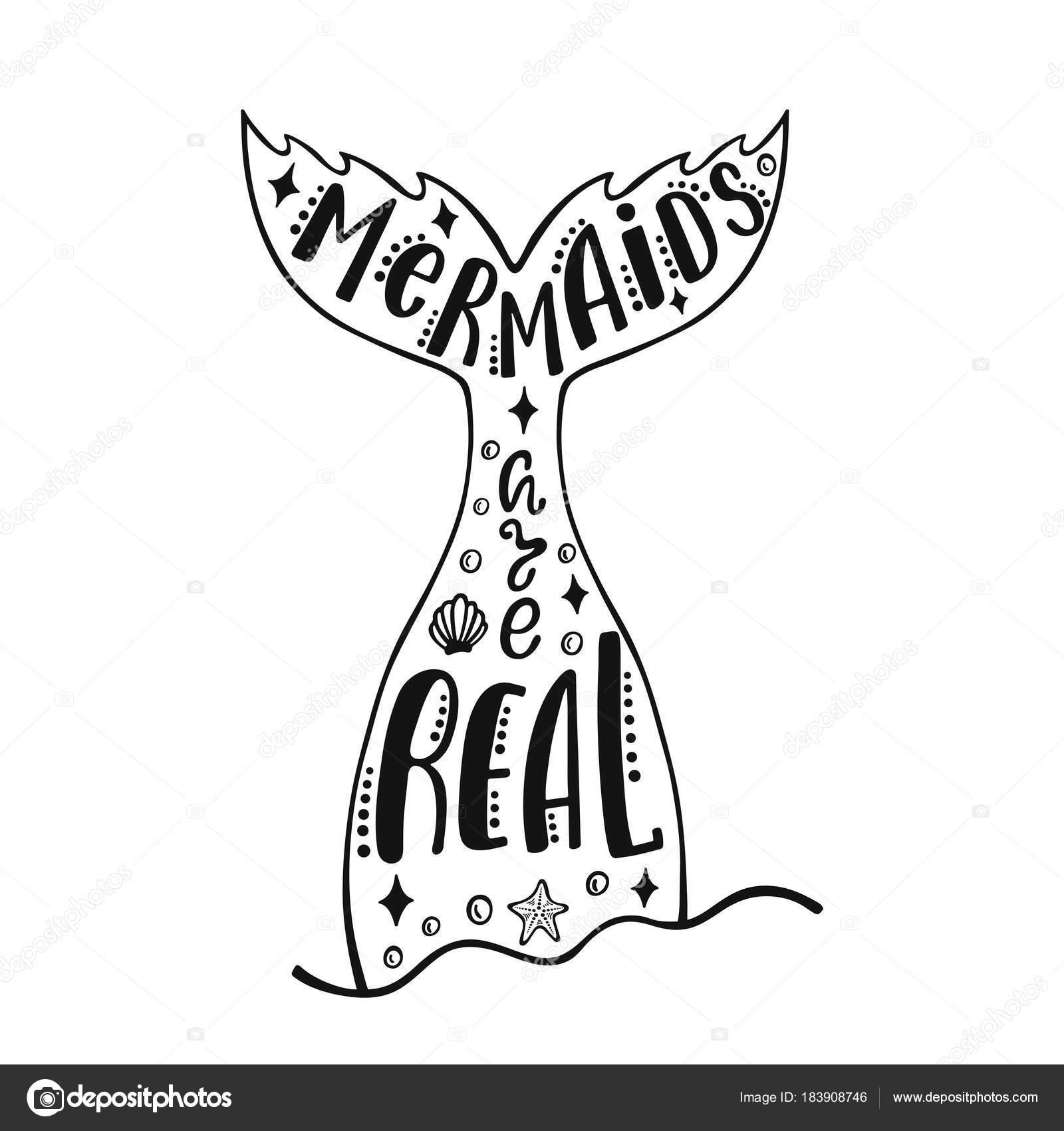 1600x1700 Mermaid Tail Drawing Designs