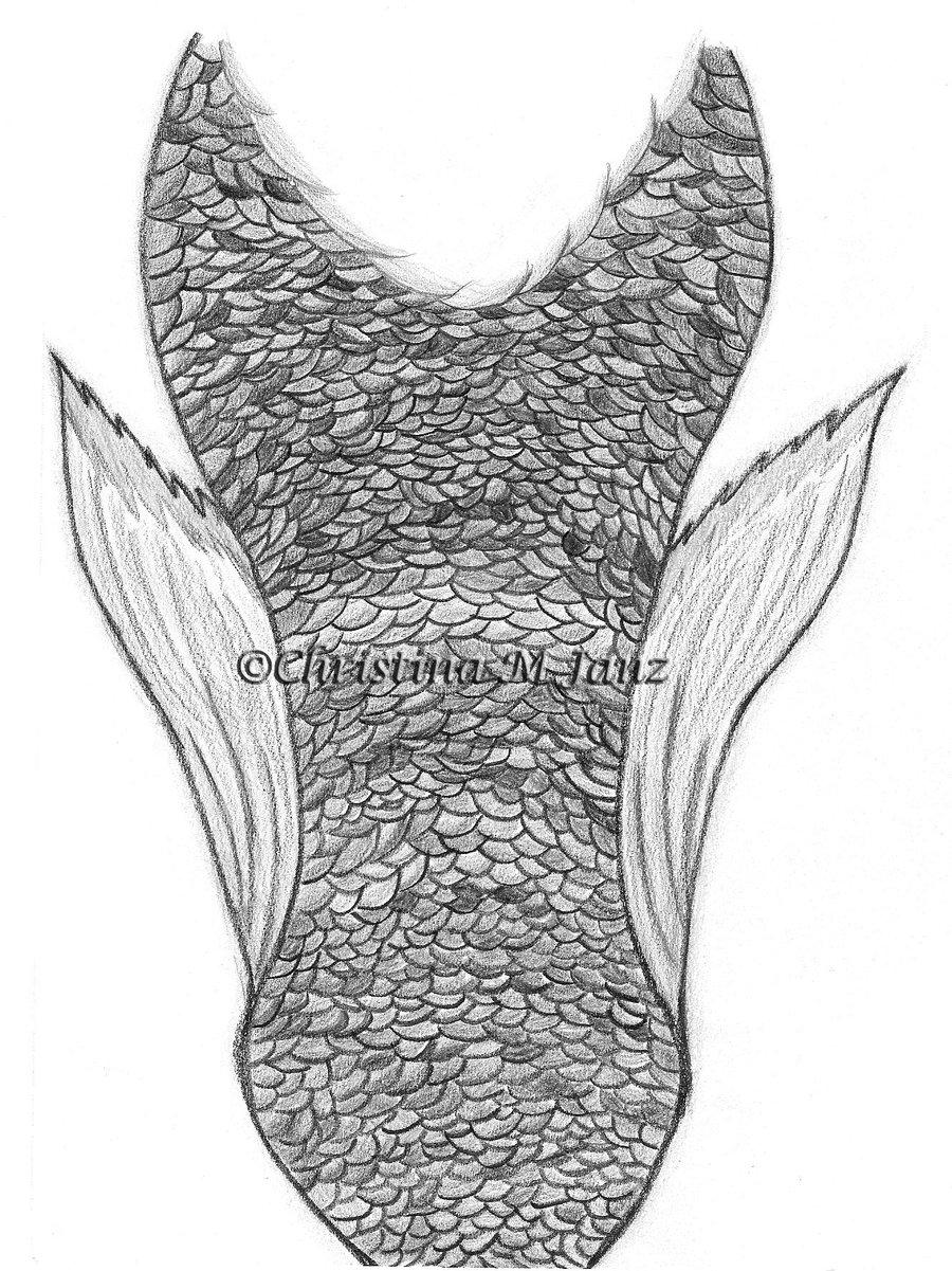 900x1201 Mermaid Tail By Kararu Chan