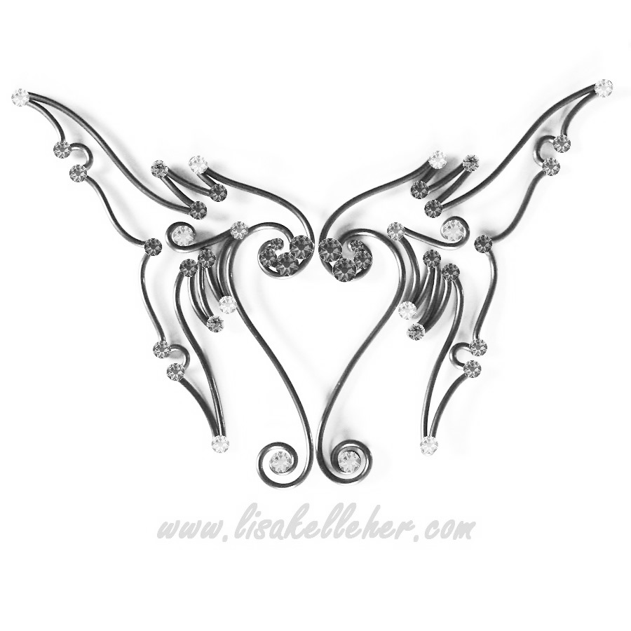 900x900 Mermaid Tail Fantasy Elf Ears Lisa Kelleher Mythical Accessories