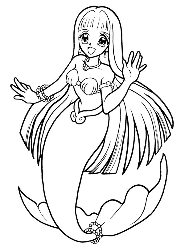 600x800 Kids N Fun Com Coloring Pages Of Mer With Fabulous Mermaid