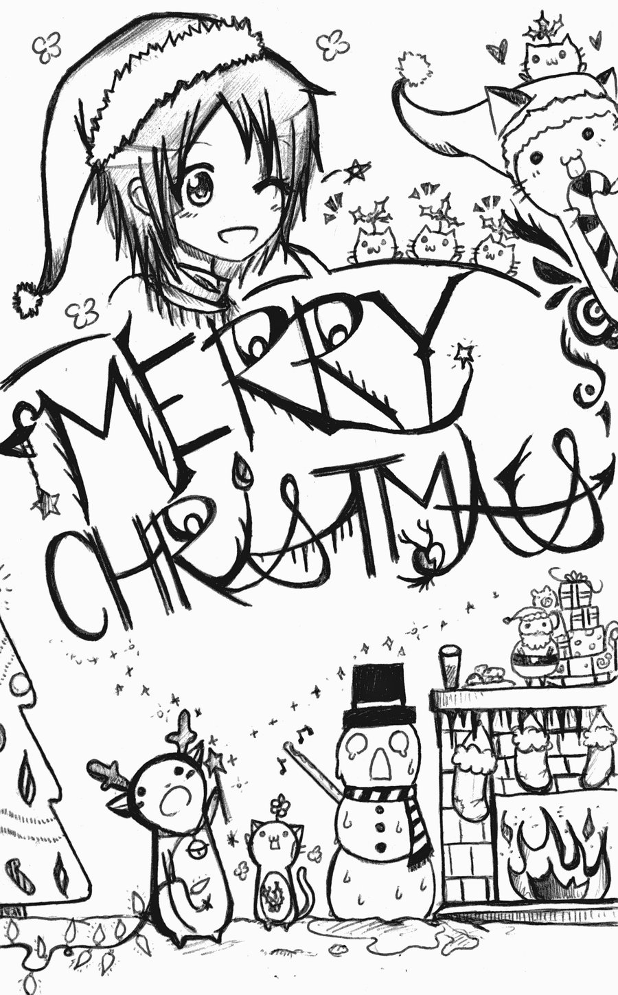 900x1448 Merry Christmas By Sotokua