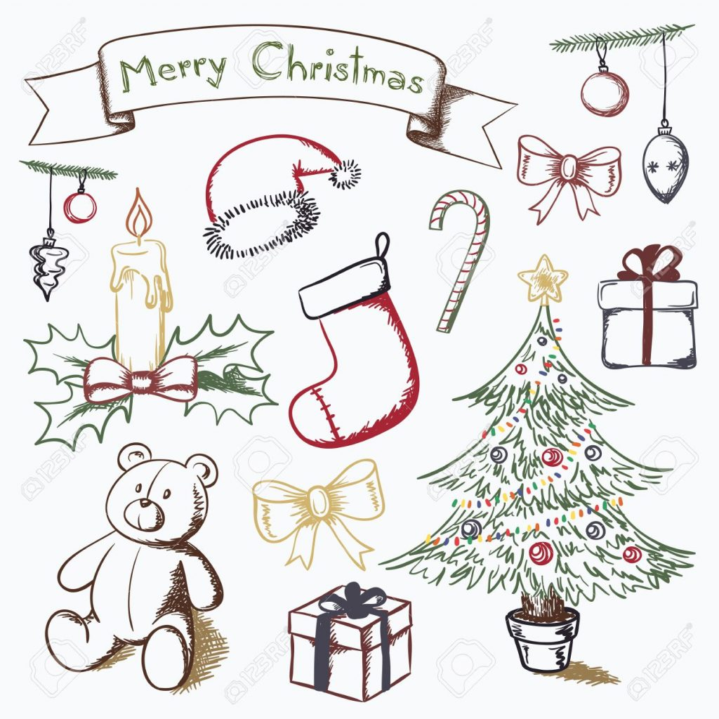 1024x1024 Christmas ~ Drawings Ofristmas Tree Drawing Ideas For Kids Free