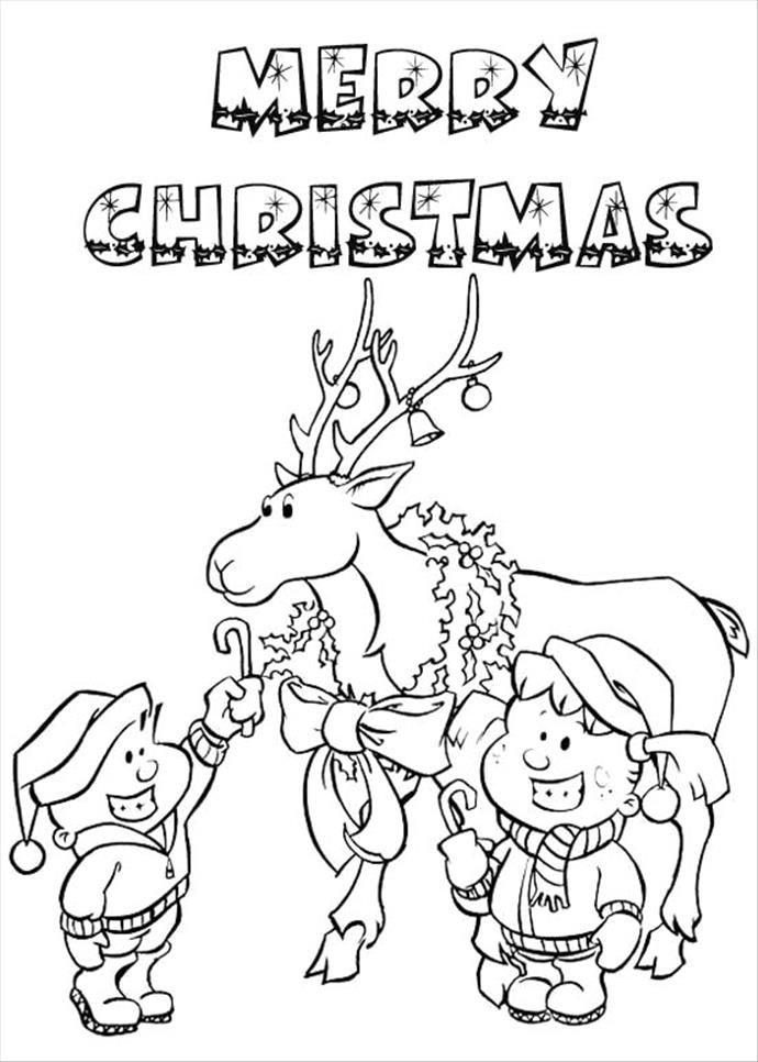 690x966 Merry Christmas Drawing Step By Step For Kids