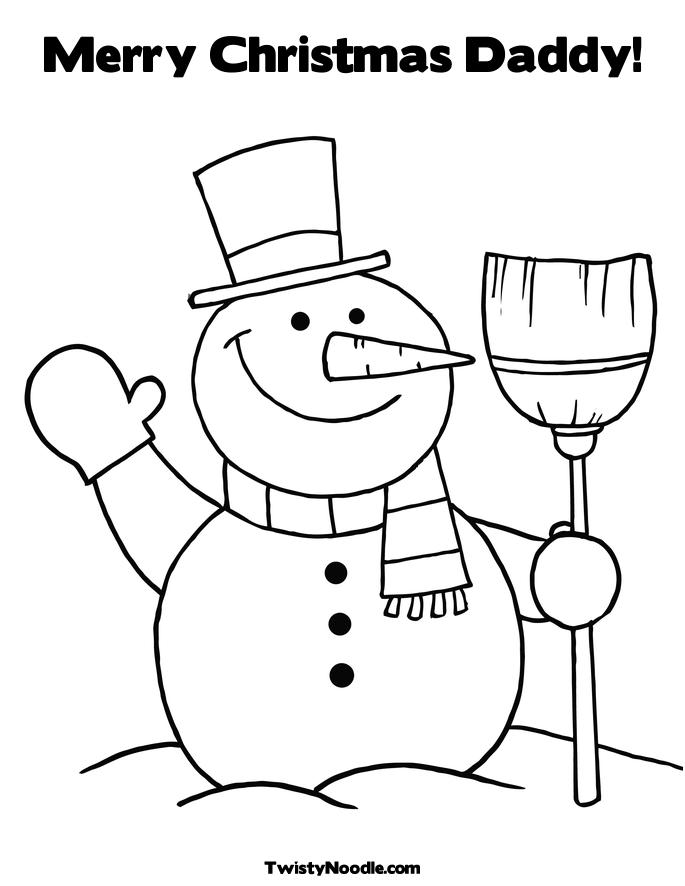 685x886 Merry Christmas Mom Coloring Pages Happy Holidays!