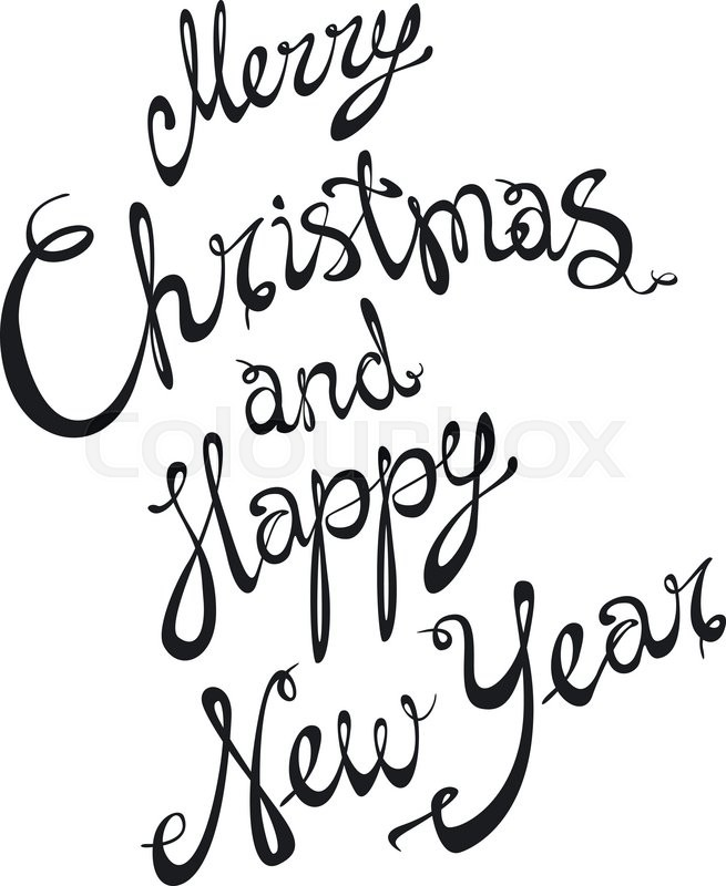 655x800 Christmas New Year Drawings Merry Christmas Amp Happy New Year