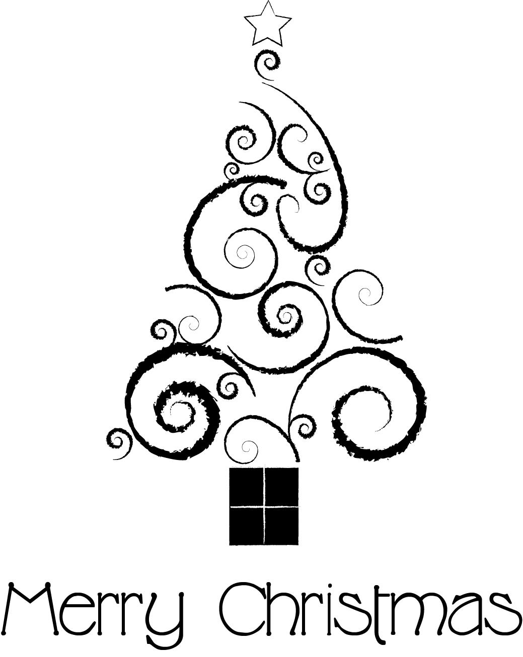 1039x1307 Merry Christmas Drawing