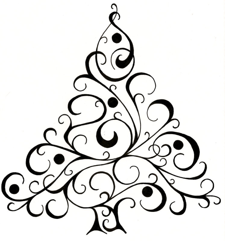 747x800 Christmas Card Design By