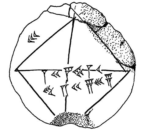 472x430 Pythagoras' Theorem In Ancient Mesopotamia The Mathematical Tourist