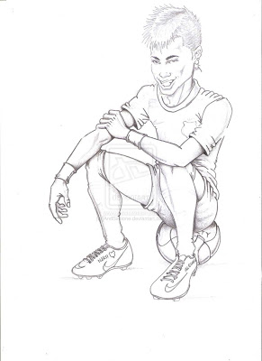 291x400 Messi Playing Soccer Coloring Pages