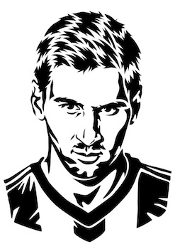 247x350 Soccer Drawings Messi