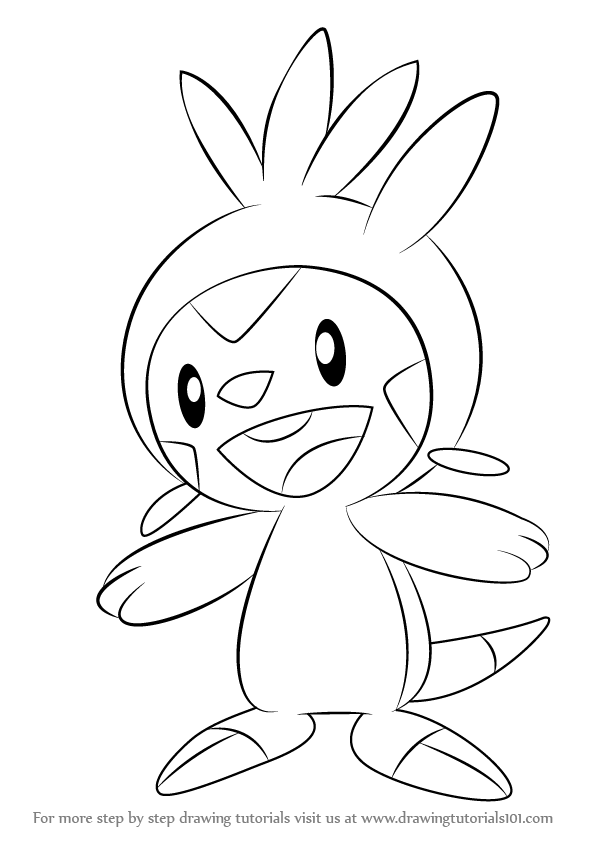 596x842 Step By Step How To Draw Chespin From Pokemon