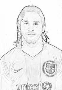 208x299 Leo Messi Coloring Sketch Templates, Messi Coloring Pages