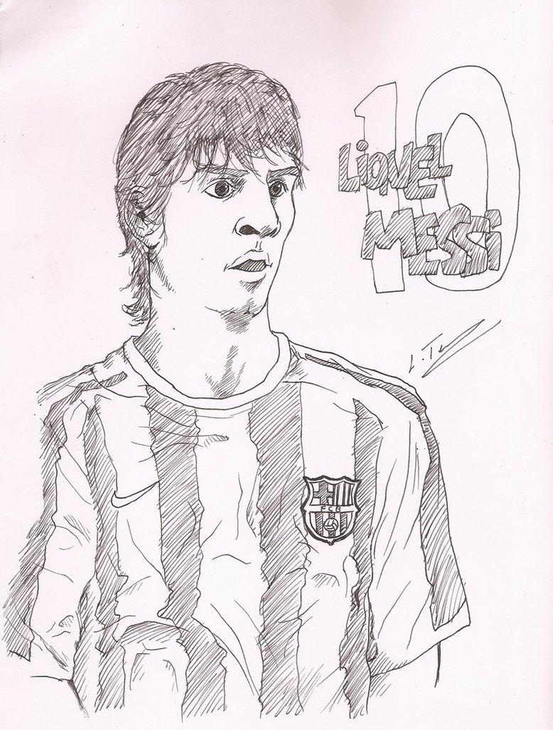 778x1027 Lionel Messi By Tarunlak