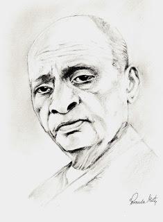 235x320 Sketches And Drawings Sardar Vallabhbhai Patel