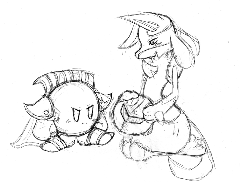 800x604 Meta Knight And Lucario By Judgement Kratos