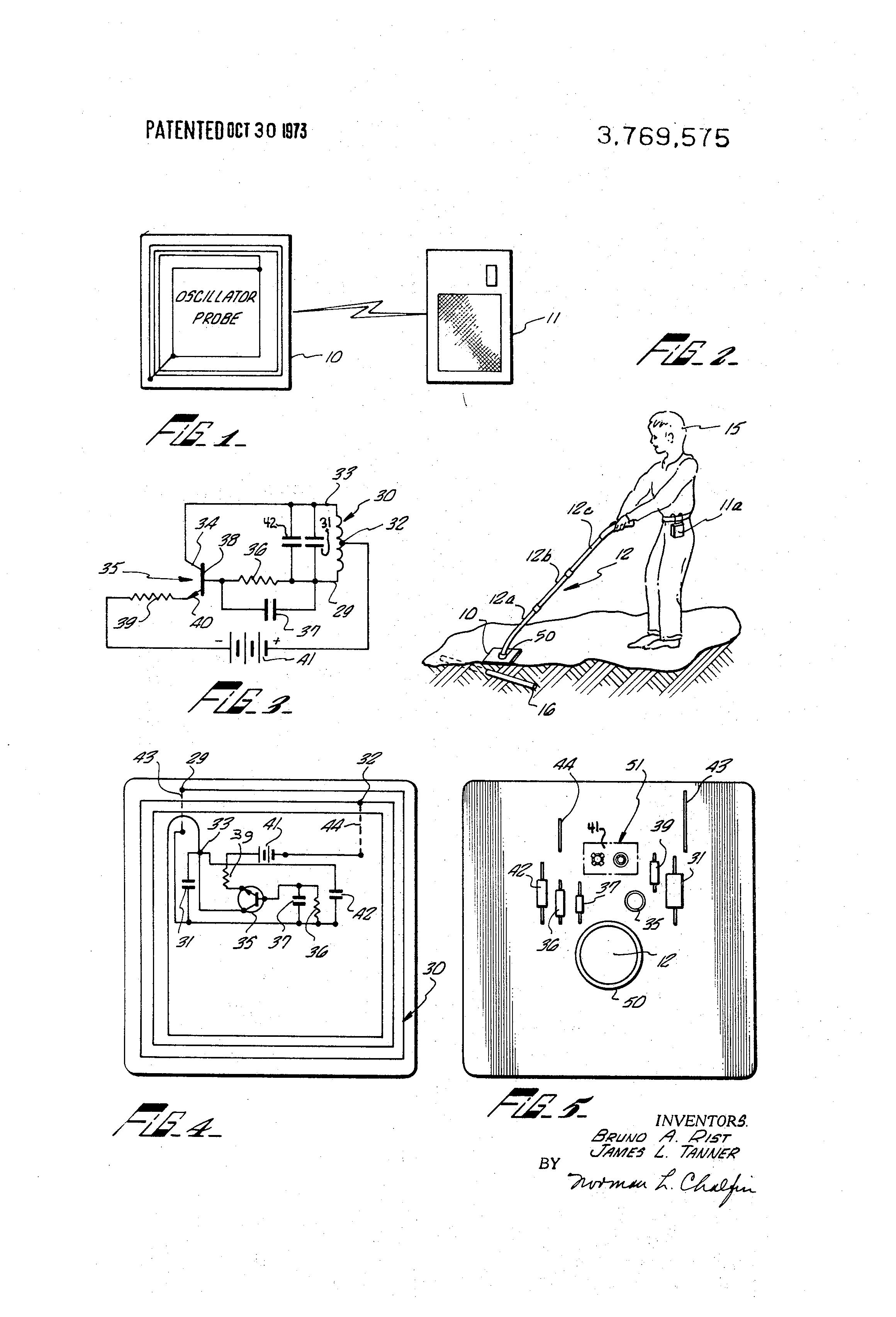 2320x3408 Patent Us4709213 Metal Detector Having Digital Signal Processing