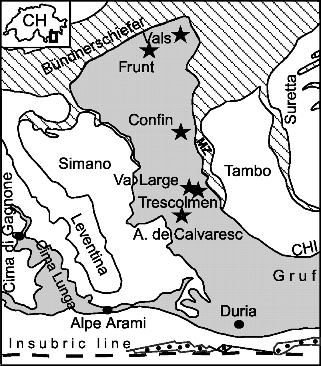 1123x1280 Geochronological Evolution Of Hp Metamorphic Rocks Of The Adula