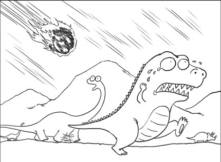 430x316 Meteor Coloring Pages